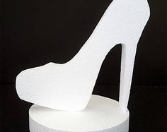 High Heel Shoes Cut Outs For Themed Centerpieces Denim