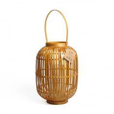 Lanterne, bambou, format intermédiaire