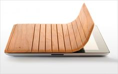 Made in Holland, the Miniot iPad 2 Smart Covers beautifully use wood to give your tablet a fresh look.