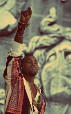 Kanye is the greatest of all time in my eyes.