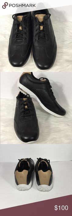NWOTB Men's Rockport City Routes T Toe Size 10 M Men's New Without Box or Tag Rockport City Routes T Toe Shoe Size  10 Medium. Black leather upper. Only wear/scuffs on bottom would be from trying on in the store. Super Nice Shoe Rockport Shoes Sneakers