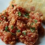 "Cauliflower Spanish ""Rice"" | Delectable Darlings"