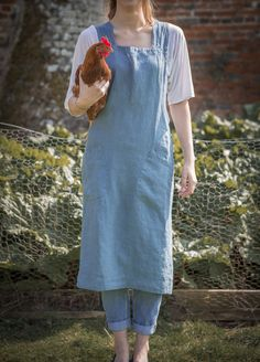 Artisan Linen Pinny/Apron from The Linen Works