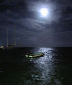 Once in a blue moon  - Ambergris Caye, San Pedro, Belize August 31, 2012