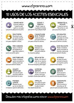 18 usos de aceites esenciales