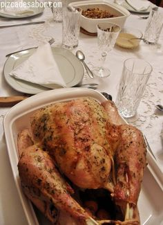 Used Cooking Oil Recycling Christmas Ham, Christmas Cooking, Thanksgiving Recipes, Holiday Recipes, Chichen Recipe, Xmas Food, Big Meals, Barbecue Recipes, Gastronomia