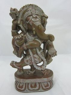 Good Luck Lord Ganesha Stone Sculpture Hindu Yoga Decor Ganesha Spiritual Statue 10 Inches by mogulinterior, http://www.amazon.com/dp/B00CPK4BQM/ref=cm_sw_r_pi_dp_gSkXrb0585X7Q