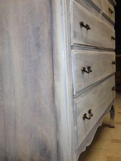 Flourish Vintage: Grey Wash - How To
