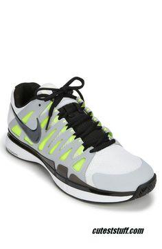 Nike Zoom Vapor 9 Tour Platinum White Black Volt