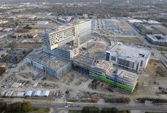 Parkland hospital under construction in Dallas Texas