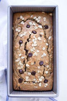 havermout bananenbrood - gezond ontbijt recept - banana bread oats