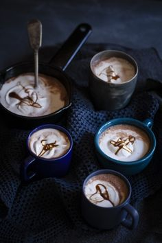 NOMU is an original South African food and lifestyle concept by Tracy Foulkes. Chocolate Recipes, Hot Chocolate, Dream Recipe, South African Recipes, Yummy Drinks, Tea Time, Caramel, Treats, Tableware