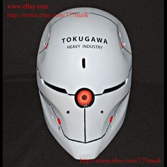 1:1 halloween costume metal gear solid cosplay prop mask gray fox helmet ma203   from $199.0