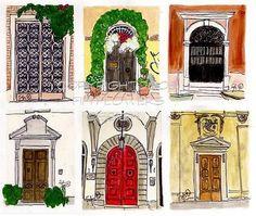 http://patriciagrayinc.blogspot.com/2008/08/passion-for-doors.html