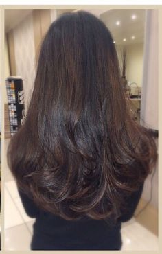 32 Ideas For Hair Goals Long Balayage Haircuts For Long Hair, Cool Hairstyles, Brunette Long Layers, Long Brunette Hair, Natural Hair Styles, Short Hair Styles, Long Layered Hair, Long Hair Layer Cut, Beautiful Long Hair