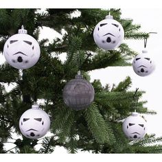 Star Wars Christmas Baubles - Pack of 6 - Only £19.99