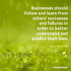 #Marketing #Quote: #Businesses Should Follow and Learn From Ohers'...