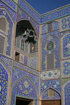 Sheikh Lotfallah Mosque, Esfahan, Iran