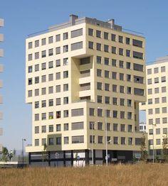 Nave industrial de hormig n arquitect nico prefabricado en - Fachada hormigon in situ ...