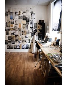 Une semaine sur Pinterest #16do in art room to save space- keep open to move in supplies on table selfagaints wall