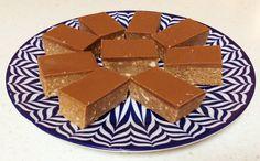 No Bake Caramello Slice