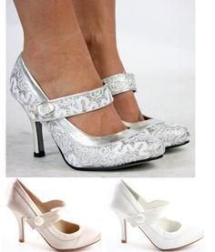 d70fcd052e7c Ladies Party Wedding Bridal Pumps Low Mid Heels Prom Stiletto Court Shoes  Size