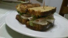 Mini Sanduíche com Pão de Farelo Aveia
