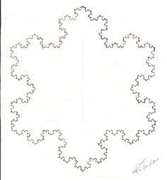 Koch Snowflake (Hand-Drawn)