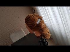 updo tutorial for long hair/تسريحة للشعر الطويل - YouTube