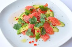 Avocado and Pink Grapefruit Salad with Chilli – Zesty, Creamy, Zing! It's like magic when contrasting flavour sensations mix together to deliver taste explosions. This salad does just that, and it's also loaded with nutrients. The freshness of the grapefruit makes a perfect, unsuspecting complement to the creamy texture of the avocado, and then the chili finishes you off! Not only is this bold vegan salad simple to prepare, it looks amazing and is sure to get the nod of approval.    Serves…