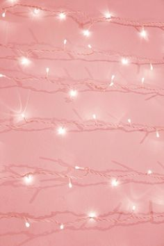 Fairy pink glitter lights ★ iPhone wallpaper