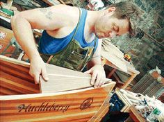 Nick Offerman will teach you how to build a canoe out of wood. Also hilarious.
