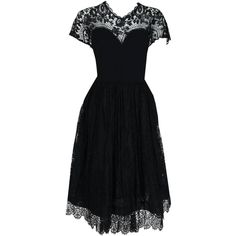 1950's Pauline Trigere Black Illusion Lace Wool Crepe Cocktail Party... (70.575 RUB) ❤ liked on Polyvore featuring dresses, wool dress, glamorous cocktail dresses, glamorous evening dresses, evening dresses and special occasion dresses