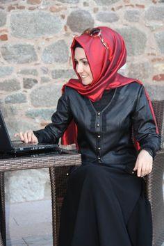 Pınar Şems - Deri Ceket - Siyah 1201-4002-21