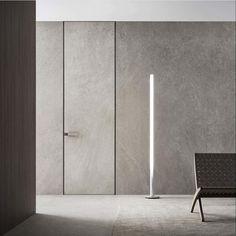 Flush Door Design, Door Design Interior, Modern Interior, Interior Architecture, Flush Doors, Modern Door, Room Doors, Windows And Doors, Living Room Designs