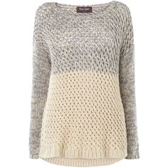 Phase Eight Courtney chunky jumper found on Polyvore
