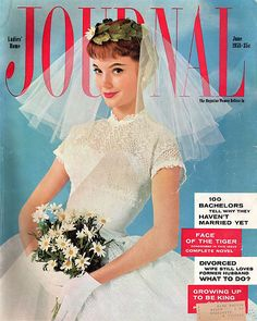 I also love vintage magazines even if not connected to bridalwear so this is a bonus. I noticed this is from 1958 the year before I was born. I also love the price.