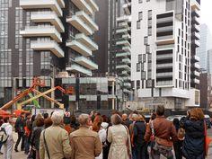 """Itinerario """"Dall'idea di città alla città costruita: l'area di Garibaldi-Repubblica"""" a cura di Patrizio Cimino. (Foto di Alessandro Sartori)"""
