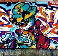 Street Art Hex1
