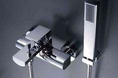 ARCH Bath/Shower Mixer. #bath #shower #mixer #faucet #JUSTIME
