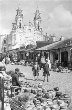 Zofia Chometowska Fair in Pińsk 1930-1935 / София Хометовская. Ярмарка в Пинске. 1930-1935 гг.