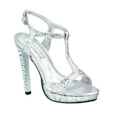 Shop for designer dress shoes at Simply Dresses. Sexy high heels for prom, formal designer dress shoes, bridal shoes and high heels for bridesmaids. High Heels For Prom, Silver High Heels, Prom Heels, Women's Heels, Designer Dress Shoes, Designer High Heels, Silver Wedding Shoes, Silver Shoes, Bling Wedding