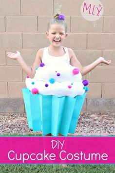 A step by step tutorial for making the sweetest cupcake costume this Halloween! Includes a full supplies list for children and adult costumes; directions are written for a child's costume.