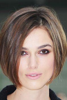 Os cabelos curtos prometem ser a nova tendência para o inverno.