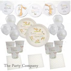 Guess How Much I Love You Party Deluxe Kit for 16