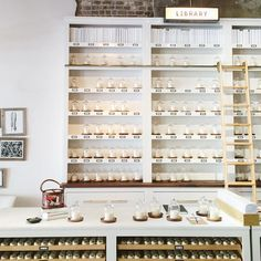Our Library at Candlefish features 100 different candle fragrances. What's your number? #candlefish | Charleston, SC