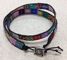 PRETTY Double Wrap Bracelet by Theresa Hearney!