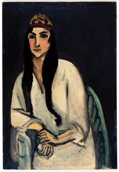 Henri Matisse - Girl with a Persian Cap, 1915