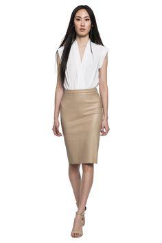 CINTA Sleeveless Silk Bodysuit