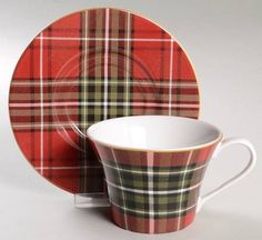 Your Favorite Brands Eye-Catching Entertaining Flat Cup & Saucer Set
